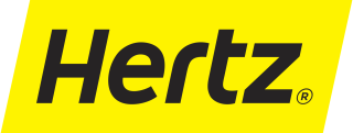 Hertz (UK) Logo
